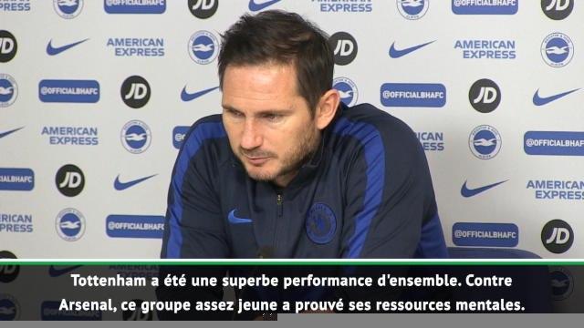 """21e j. - Lampard : """"La période des fêtes a été un aperçu de notre saison"""""""