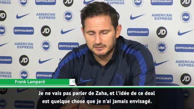 Transferts - Lampard s'exprime sur un deal Giroud-Zaha