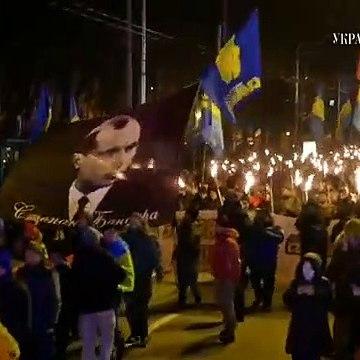 Смолоскипний марш на честь Степана Бандери пройшов центром Києва