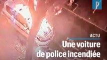 Colombes : il incendie une voiture de police municipale… et s'embrase aussi