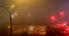 Şanlıurfa'da yoğun sis! Trafik durma noktasına geldi