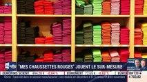 """La France qui bouge: """"Mes Chaussettes Rouges"""" jouent le sur-mesure, par Alexandra Paget - 02/01"""