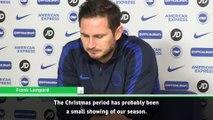 Recent performances reflect Chelsea's season - Lampard