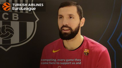 December MVP interview: Nikola Mirotic, FC Barcelona