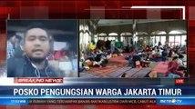 926 Warga Cipinang Melayu Mengungsi di Universitas Borobudur
