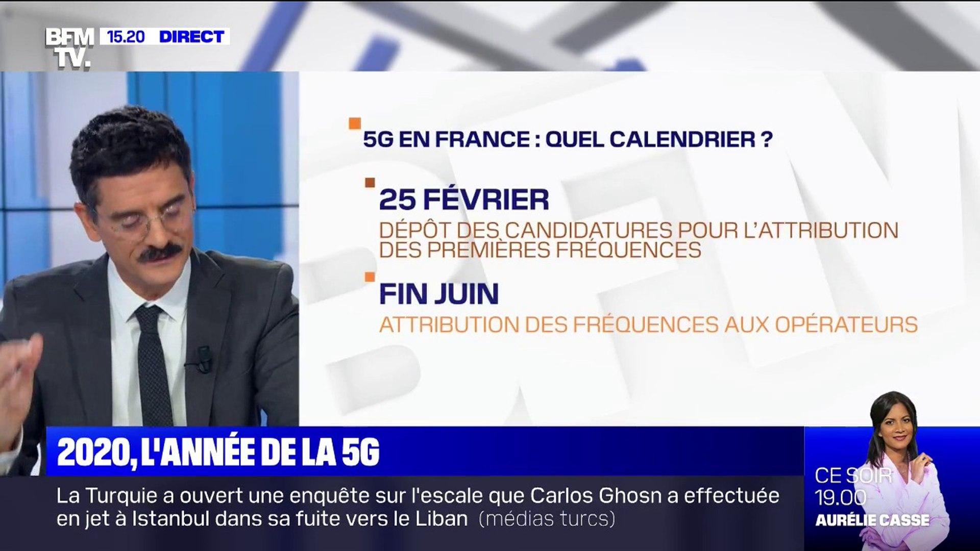 La 5G arrive en France en 2020