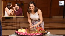 Deepika Padukone Celebrates Birthday With Chhapaak Team And Media
