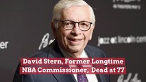 Former NBA Commissioner David Stern Passed Away
