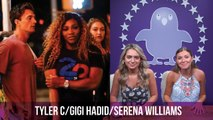 Tyler C From The Bachelorette Had Dinner With Gigi Hadid & Serena Williams Last Night