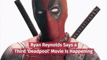 Ryan Reynolds Is Ready For New 'Deadpool' Movie