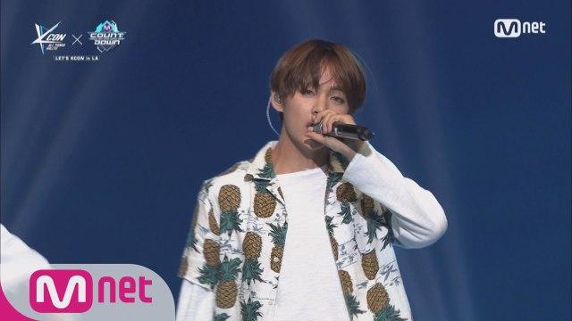 [KCON 2016 LA×M COUNTDOWN 미방송 무대 공개] 방탄소년단 (BTS) _ Save Me