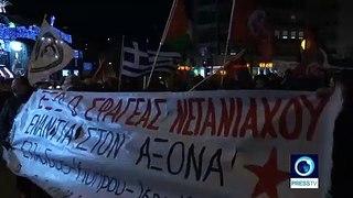 Greece: Pro-Palestine protest slams Netanyahu's visit amid EastMed gas pipeline agreement