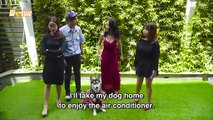 [Engsub] II WASSUP Ep 42 - Insolent girl walking her dog without a muzzle and the end