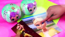 CHLOE and QUEEN BEE from Miraculous LADYBUG into LOL SURPRISE DOLLS - Toys Transformations