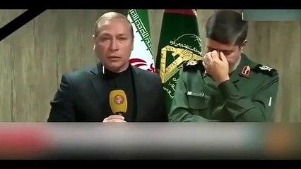 İran Devrim Muhafızları Sözcüsü, canlı yayında gözyaşlarına boğuldu