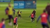 Le une-deux parfait entre Lionel Messi et Antoine Griezmann