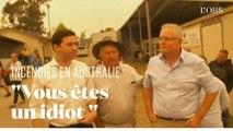 En Australie, le Premier ministre chahuté par des sinistrés des incendies