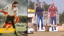 Trivikram Cut Out Along With Allu Arjun Goes Viral