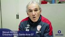 Coupe de France, Reims Ste-Anne - Montpellier