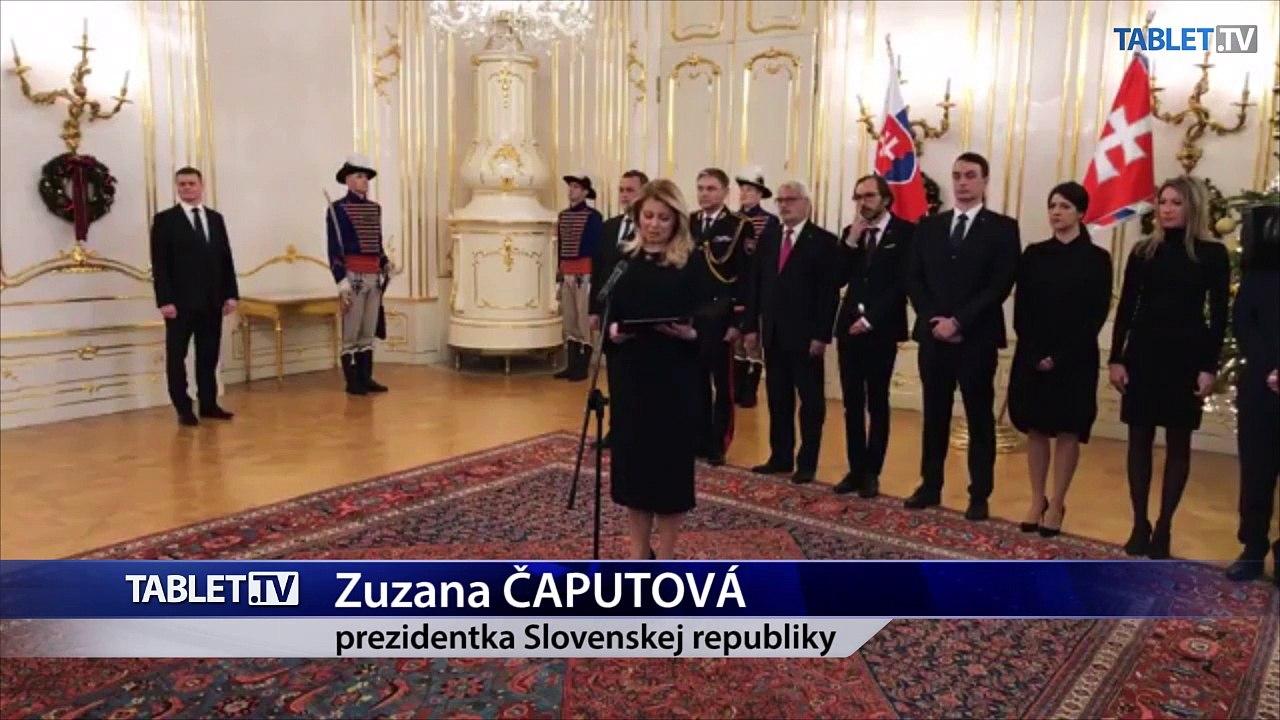 ZÁZNAM: Prezidentka SR Z. Čaputová prijala zástupcov cirkví a náboženských spoločností