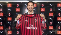 À 38 ans, Zlatan Ibrahimovic est de retour à l'AC Milan, où il s'est engagé jusqu'au terme de la saison.