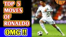 Cristiano Ronaldo Top Moves Ever, Cristiano Ronaldo Top Skills, Cristiano Ronaldo Top 5 Moves