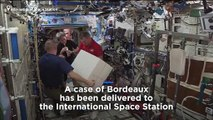 Space case: why are 12 bottles of Bordeaux on the International Space Station?