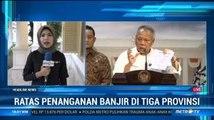 Jokowi Gelar Ratas Penanganan Banjir di 3 Provinsi