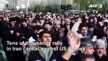 Tens of thousands rally in Iran capital against US 'crimes'