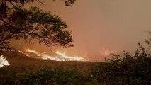 Residents Flee As Fires Approach Australia's Alpine Region