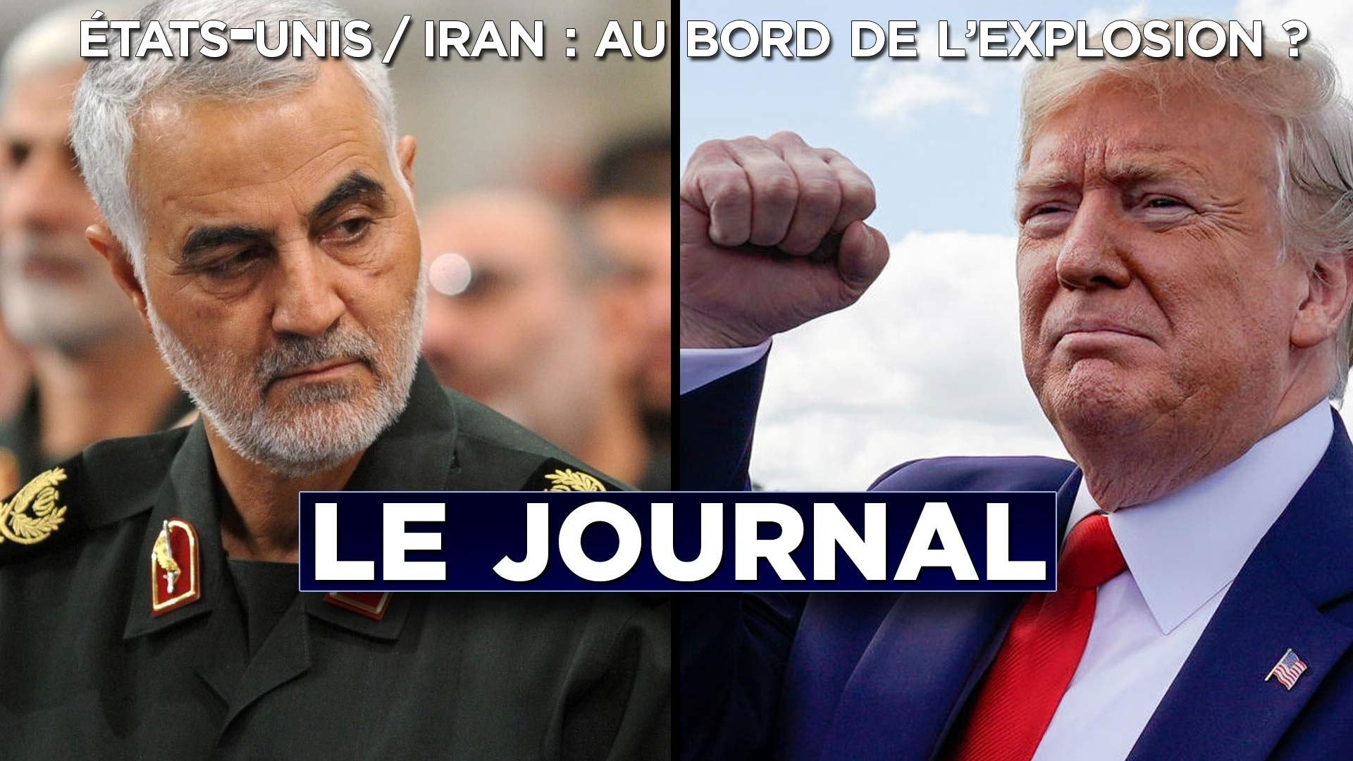 Etats-Unis/Iran : au bord de l'explosion ? Journal du vendredi 3 janvier 2020