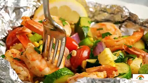 Shrimp and Summer Veggie Recipe very easy Latest 2020