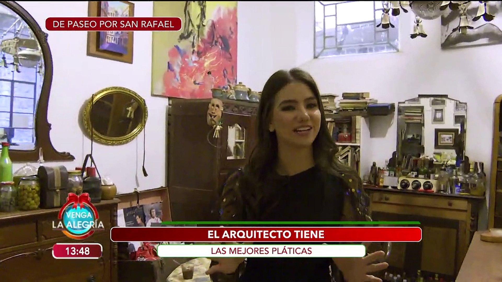 Olga Mariana tiene plan para tu fin de semana en la colonia San Rafael. | Venga La Alegría
