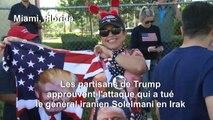 Les partisans de Trump approuvent l'attaque tuant le général iranien Soleimani
