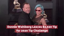 Donnie Wahlberg Joins The 2020 Tip Challenge