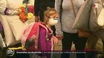Incendies en Australie : des milliers de personnes évacuées