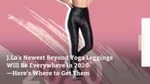 J.Lo's Newest Beyond Yoga Leggings Will Be Everywhere in 2020—Here's Where to Get Them