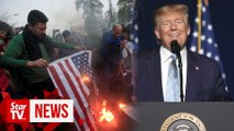 Trump says he 'terminated' top Iran general to thwart attack on Americans