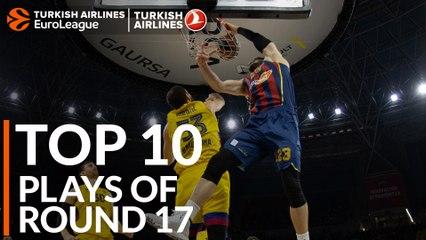 Regular Season, Round 17: Top 10 plays