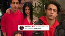 Aryan Khan's Grumpy Expression Has Got The Internet In Splits