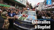 Bagdad : Des milliers d'Irakiens rassemblés pour les funérailles de Soleimani