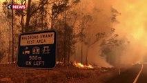 Incendies: l'Australie fait appel à 3.000  réservistes, des dizaines de milliers d'habitants évacués