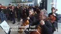 Radio France: l'orchestre et le choeur jouent pour la reprise de la grève