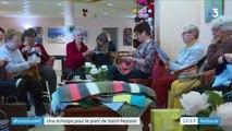 Loire-Atlantique : une écharpe tricotée de 3 km pour habiller le pont de Saint-Nazaire