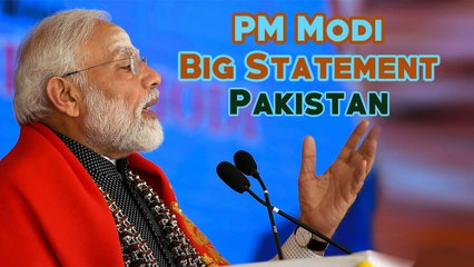 PM Modi's Big Statement on Pakistan | Akhbar Hazir Hai