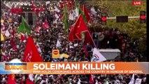 Stampede kills at least 56 at Soleimani funeral procession in Kerman