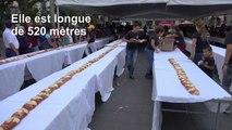 Mexique: une galette des rois géante de 520 mètres de long pour l'épiphanie