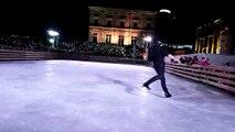 Philippe Candeloro fait le show sur la patinoire du Mois Givré de Belfort