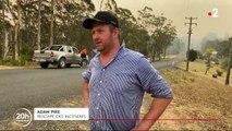 Incendies en Australie : les vents violent attisent les flammes