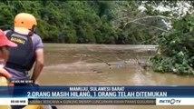 Satu Keluarga Hilang Terseret Arus Sungai Karama